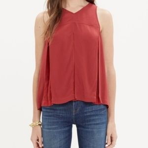Madewell Trapeze Cropped Tank Size 0